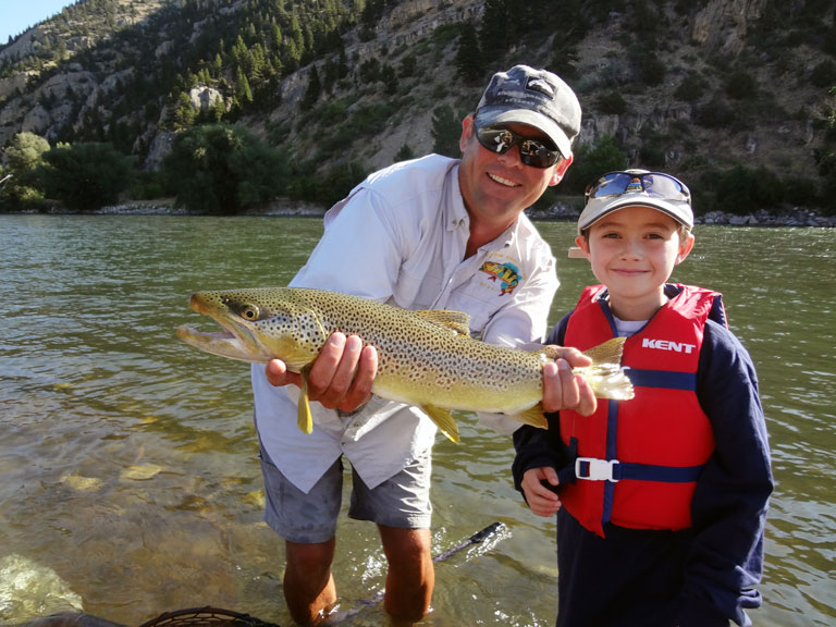 Montana fly fishing guide - Charlie Conn